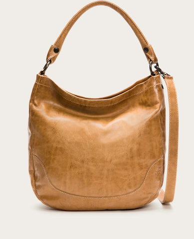 FRYE Melissa Hobo Bag in Beige