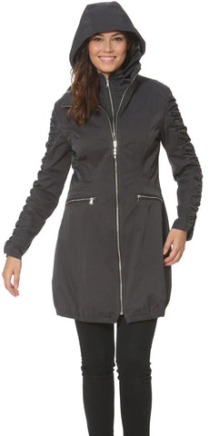 Ciao Milano Elena Jacket in Charcoal