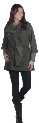 Ciao Milano Gloria Jacket in Olive