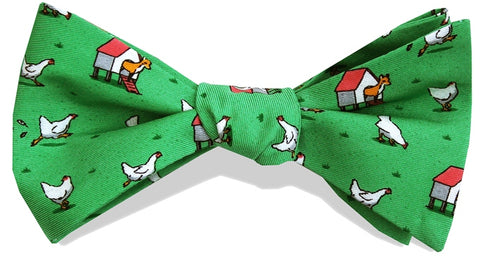 Bird Dog Bay Fox In The Hen House Bow Tie