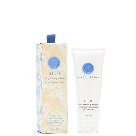 Niven Morgan 4 oz. Blue Hand Cream