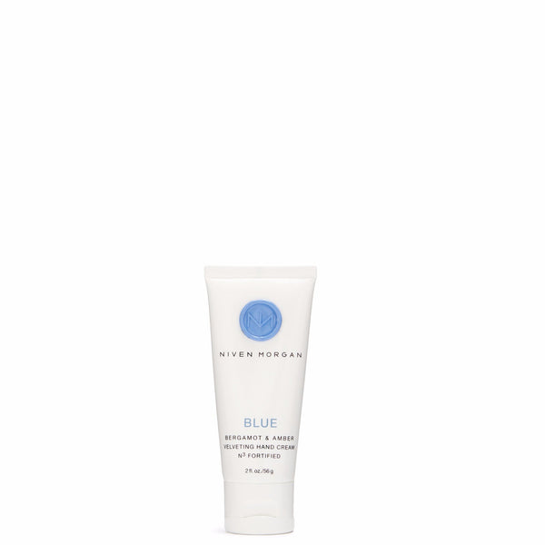 Niven Morgan 2 oz. Blue Travel Hand Cream