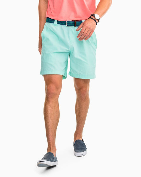 Southern Tide Shoreline Short in Offshore Green