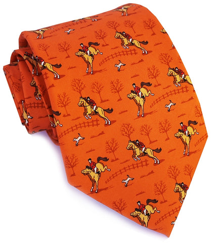 Bird Dog Bay Field Hunter Necktie