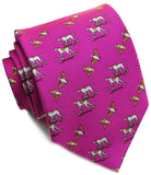 Bird Dog Bay Quail Hunt Tie