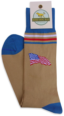 Bird Dog Bay America! Socks