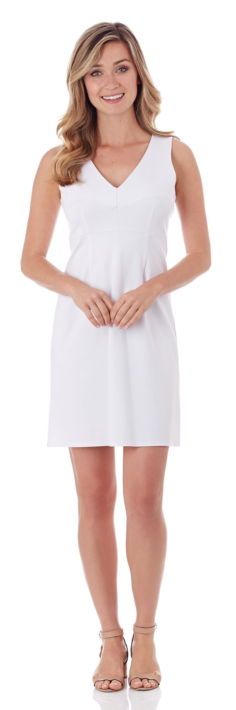 Jude Connally Naomi Dress in White