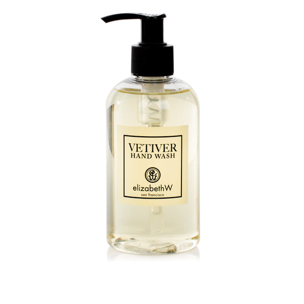 elizabeth W Vetiver Hand Wash 8 oz