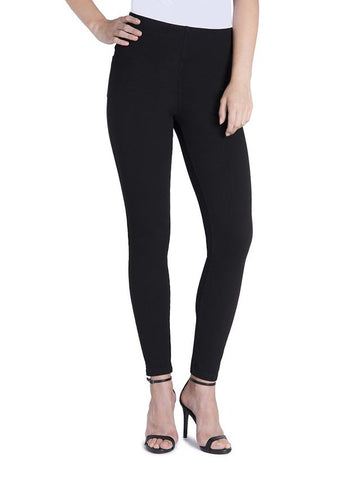 Lysse Toothpick Denim Legging in Black