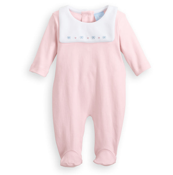 Bella Bliss Tia Romper in Pink w/ Cherries