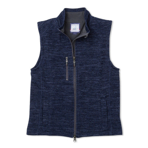 Johnnie-O Boys Tahoe Zip Front Vest in Admiral
