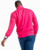 Southern Tide Riverbend Performance 1/4 Zip in Sangria