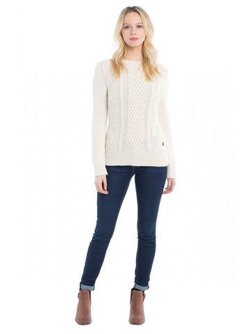 Dubarry Lisloughrey Sweater in Cream