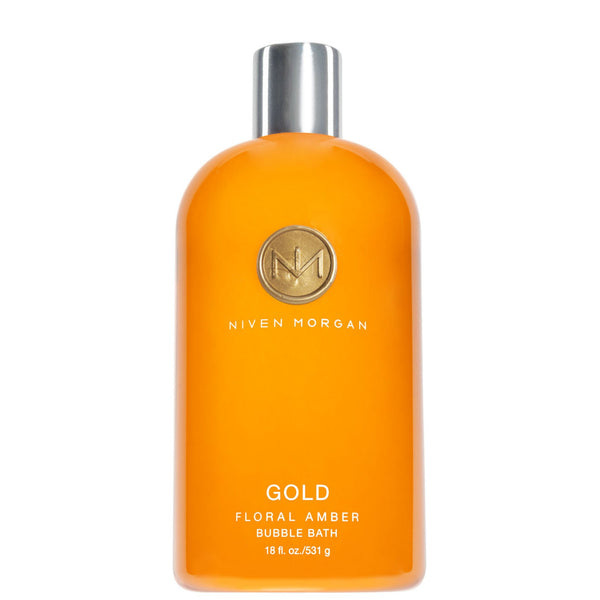 Niven Morgan Gold Bubble Bath 18 oz.