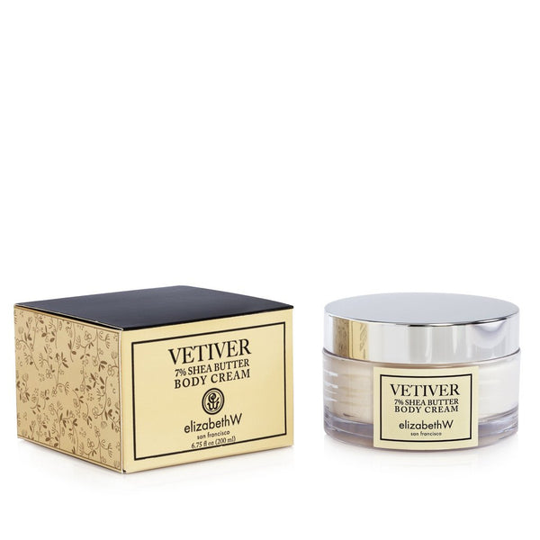 Elizabeth W Vetiver Body Cream in 6.75 oz