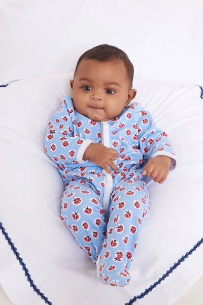Roberta Roller Rabbit Infant Love Bug Footie Pajamas