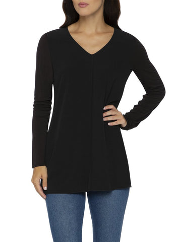 Lysse Crepe Linden Top In Black