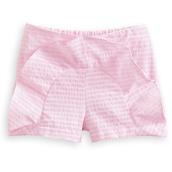Bella Bliss Zinnia Short in Pink Candela Stripe