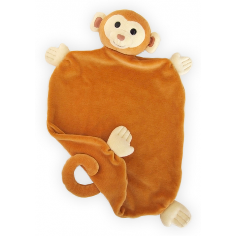 Apple Park Monkey Picnic Pal Blankie