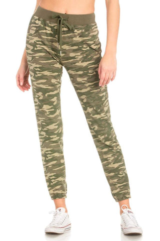 Dance & Marvel Camo Knit Jogger