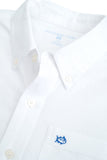 Southern Tide Youth Oxford Shirt in White