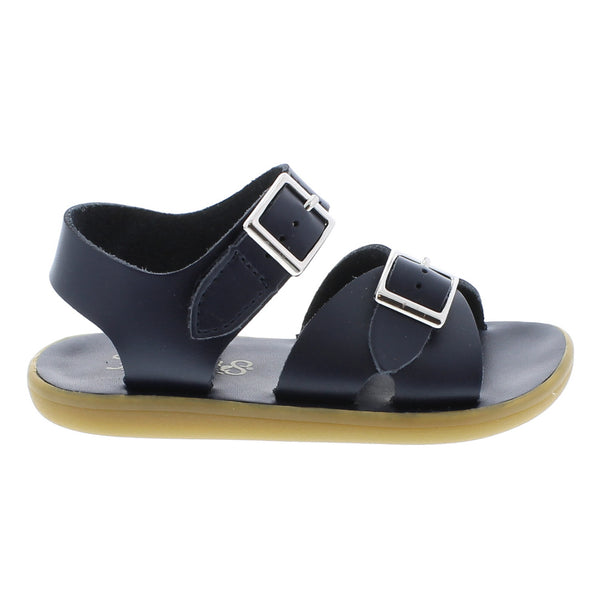 FootMates Children's Tide Sandals in Navy