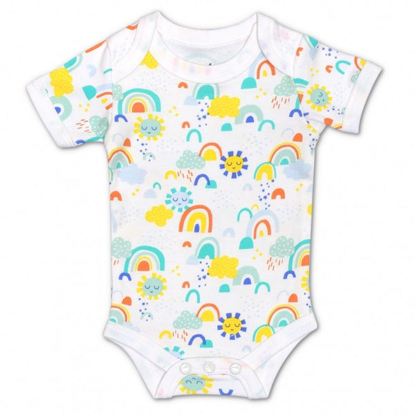 Apple Park Sunshine Print Onesie