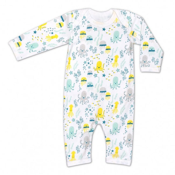 Apple Park Sea Life Print Coverall