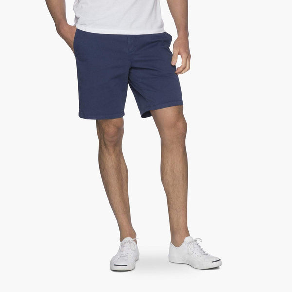 Johnnie-O Neal Stretch Twill Shorts in High Tide
