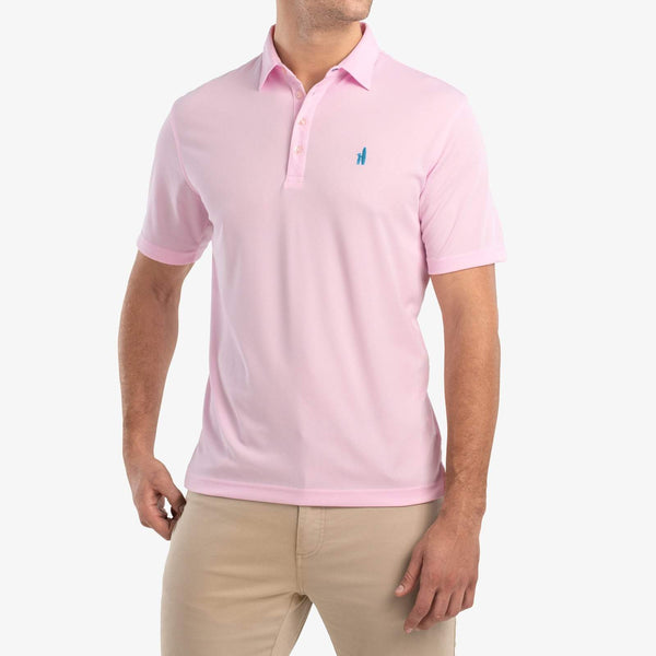 Johnnie-O Fairway Prep-Formance Polo in Pink