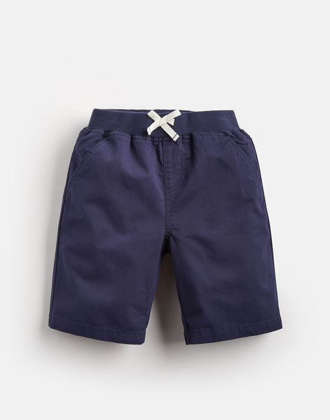 Joules Boys Huey Woven Shorts in French Navy