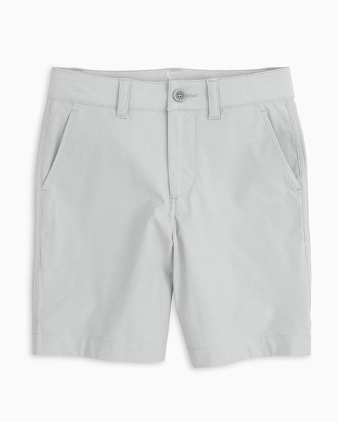 Southern Tide Boys T3 Gulf Shorts in Seagull Grey