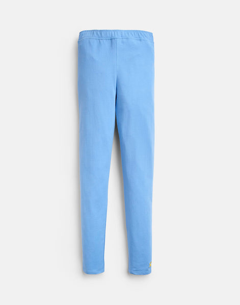 Joules Emilia Jersey Legging in Mid Blue