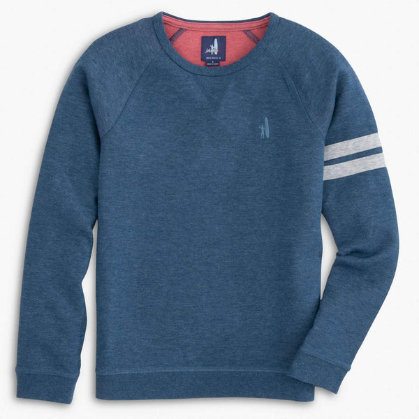 Johnnie-O Salford Jr. Raglan Sleeve Pullover in Twilight
