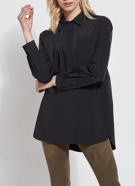 Lysse Delancey Shirt in Black