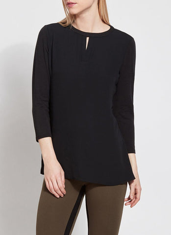 Lysse Windsor Top in Black