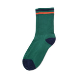 American Trench Kennedy Sock In Green/Navy/Orange