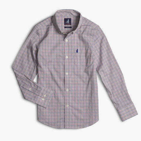 Johnnie-O Coleman Jr. Prep-Formance Button Down in Island