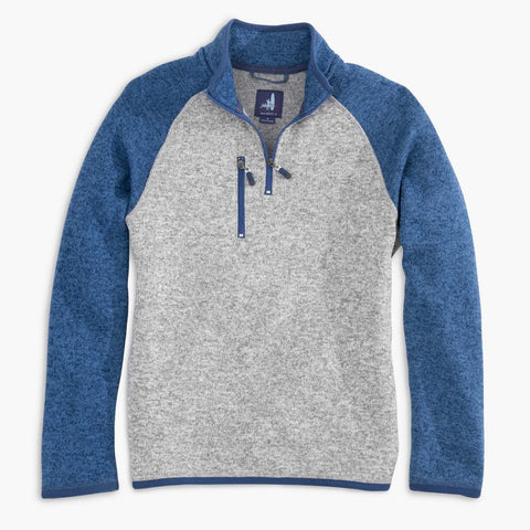 Johnnie-O Alberta Jr. 1/4 Zip Pullover in Lake