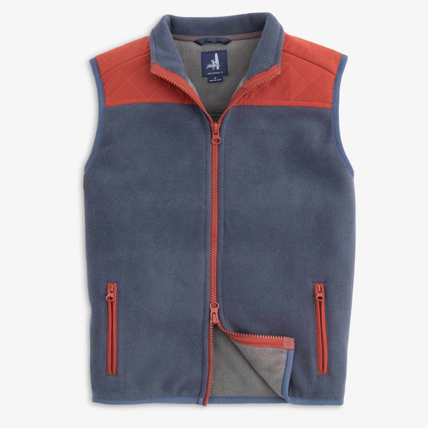 Johnnie-O Morrison Jr. Waterproof Vest in Wake