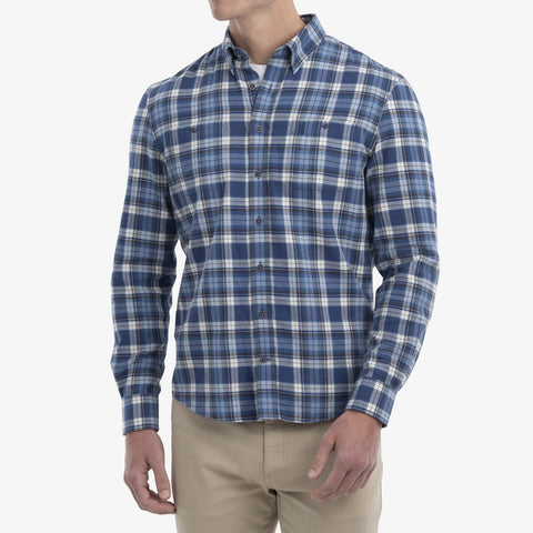 Johnnie-O Buck Hangin' Out Button Down Shirt in Marlin