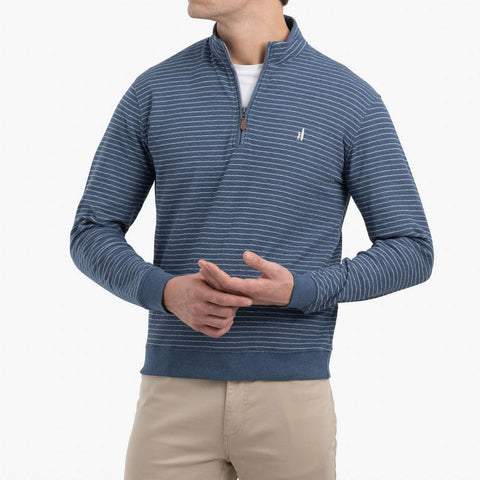 Johnnie-O Emmett 1/4 Zip Pullover in Marlin