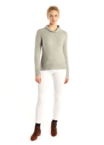 Dubarry Dunaghmore Sweater in Silver