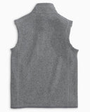 Youth Samson Peak Sweater Fleece Vest in Grey