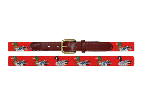 Duck Duck Goose Kids Needlepoint Belt