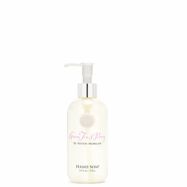 Niven Morgan 9.5 oz. Green Tea & Peony Hand Soap