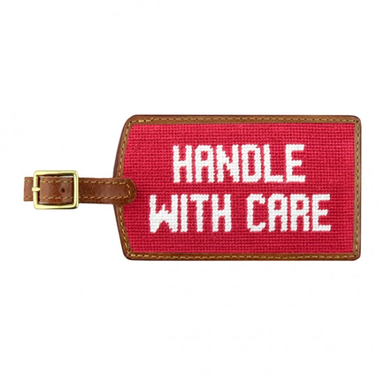 Smathers & Branson Handle with Care Luggage Tag