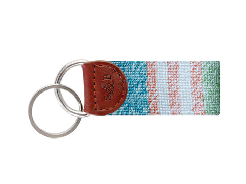 Smathers & Branson Newport Patchwork Key Fob