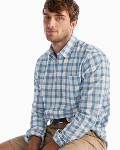 Johnnie-O Brighton Button Down Shirt in Marlin