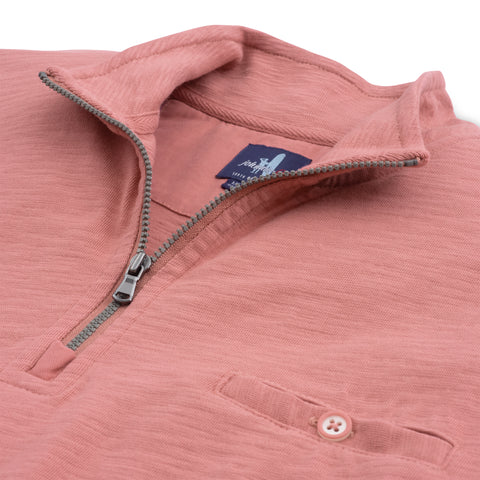 Johnnie-O Keane 1/4 Zip Pullover in Bandana